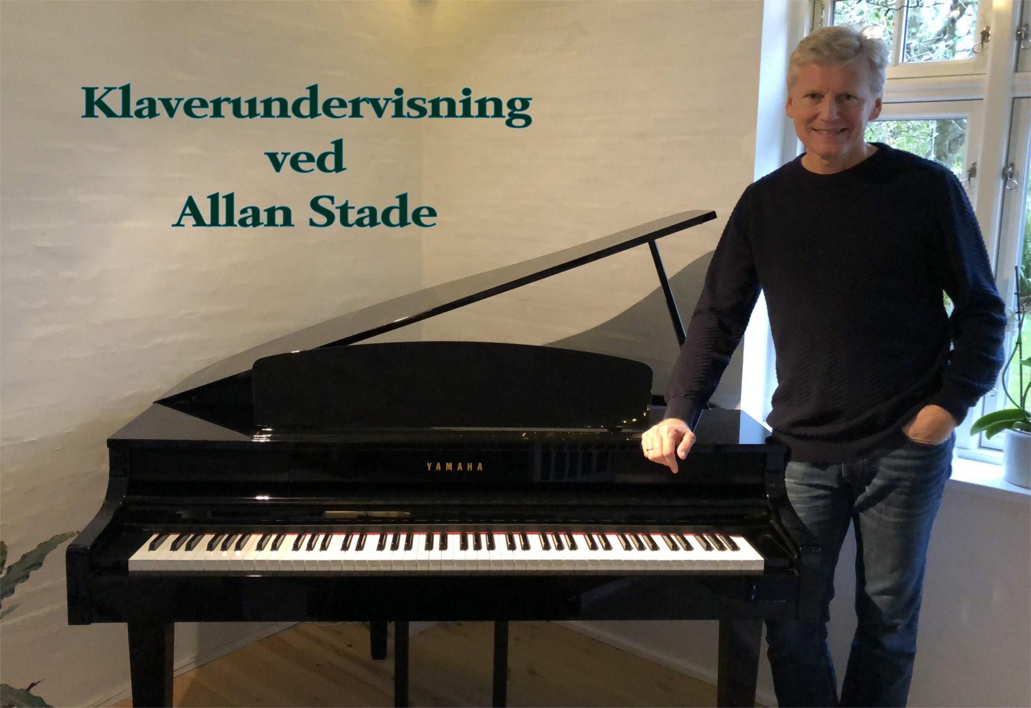 Klaverundervisning ved Allan Stade
