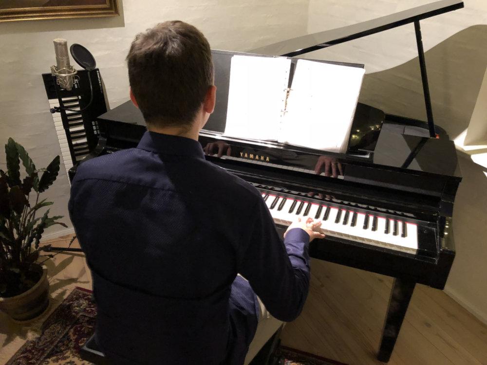 Allan Stades klaverundervisning